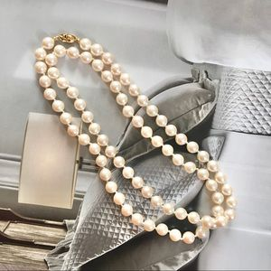 Monet Ivory Pearl Necklace